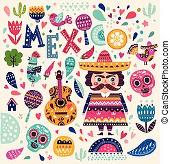 mexico's, muster
