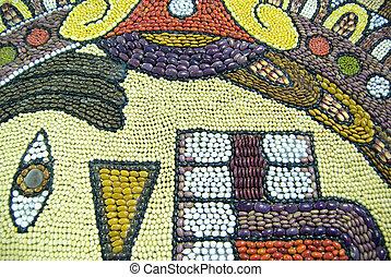 mexikói, craftwork., bennszülött, tradíció