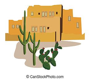 mexikói, falu