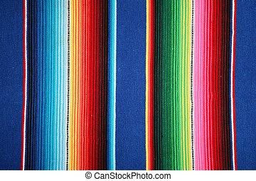 mexikanare, mönster