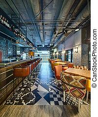 mexikanisch, restaurant's, bar