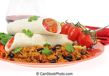 mexikansk måltid