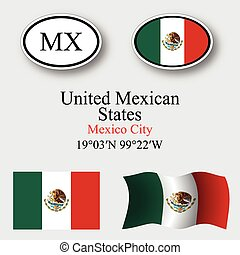 mexiko, ikona, dát