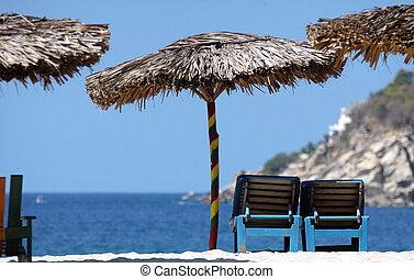 mexique, plage, escondido, puerto