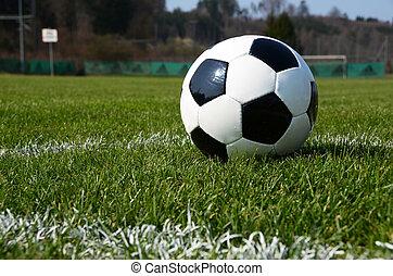 mező, labda, futball