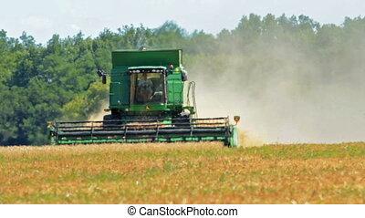 mezőgazdaság, és, aratógép
