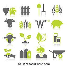 mezőgazdaság, ikon