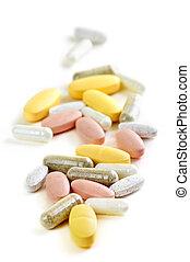 mezcla, vitaminas