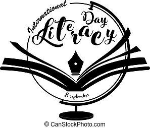 mezinárodní, den, gramotnost