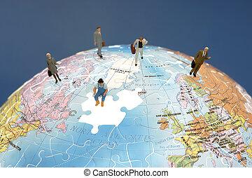 mezinárodní, kolektivní práce