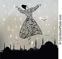 mezquita, derviche, estambul