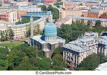 mezquita, petersburg, santo