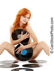 meztelen, csörgőréce, vinyl hanglemez