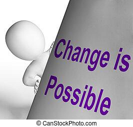 mezzi, possibile, segno, cambiamento, migliorare, reforming