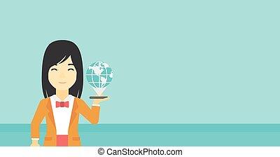 międzynarodowy, technologia, communication.