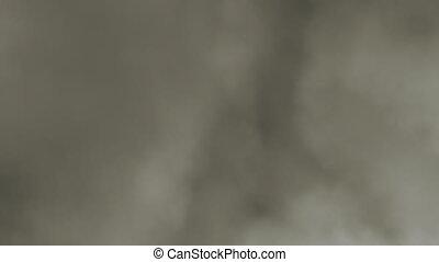 miękki, dymny, chmury, loopable, zasłona