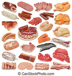 mięso, zbiór