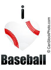 miłość, baseball