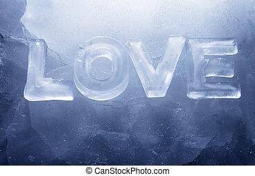 miłość, chłodny