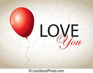miłość, karta