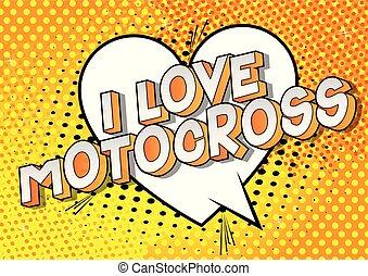 miłość, motocross