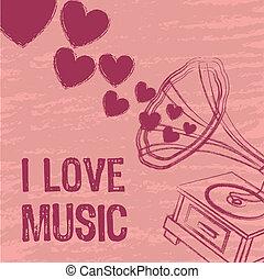 miłość, muzyka