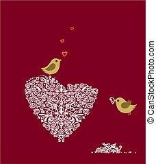 miłość ptaszki