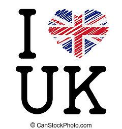 miłość, uk