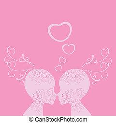 miłość, valentine