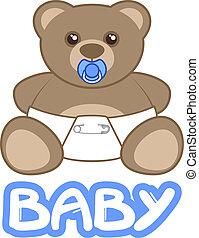 miś niemowlęcia