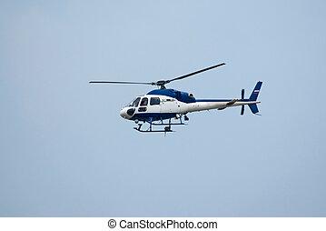 Mi-34 in flight - Mil Mi-34 helicopter in flight