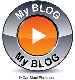 mi, blog, redondo, button.