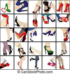 mi, pasión, shoes