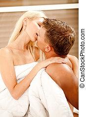 mi, sexuel, couples adulte