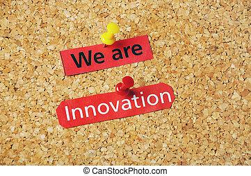 mi, vannak, újítás