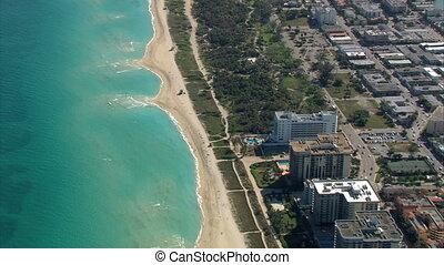 Miami Beach Aerials.