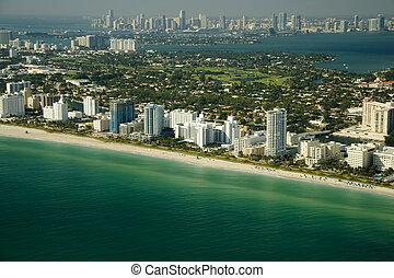 miami beach, costa
