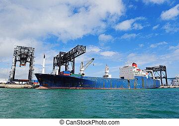 miami, cargo, port