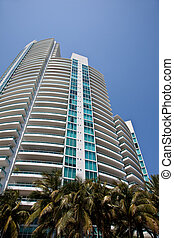 Miami highrise building - Miami Heights, high rise luxury...