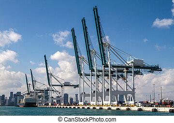 miami, port maritime