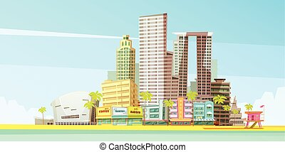 Miami Skyline Design Concept