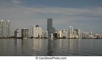 Miami Skyline Timelapse