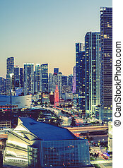 Miami, special photographic processing - CIty of Miami at...