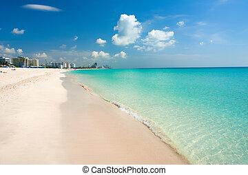 miami strand, zuiden