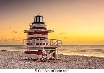 miami tengerpart, florida