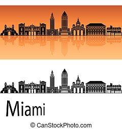 Miami V2 skyline