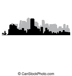 Miami vector Skyline