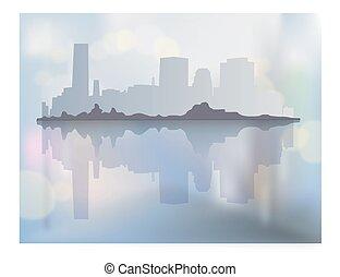miasto, krajobraz