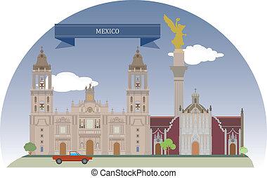 miasto meksyka, meksyk