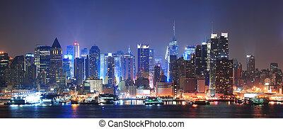 miasto nowego yorku, manhattan